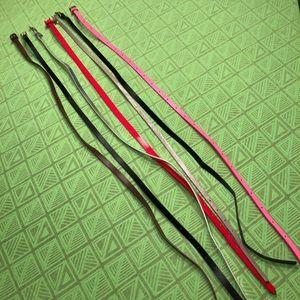 Thin Fashion Belt Bundle *includes 7 belts*